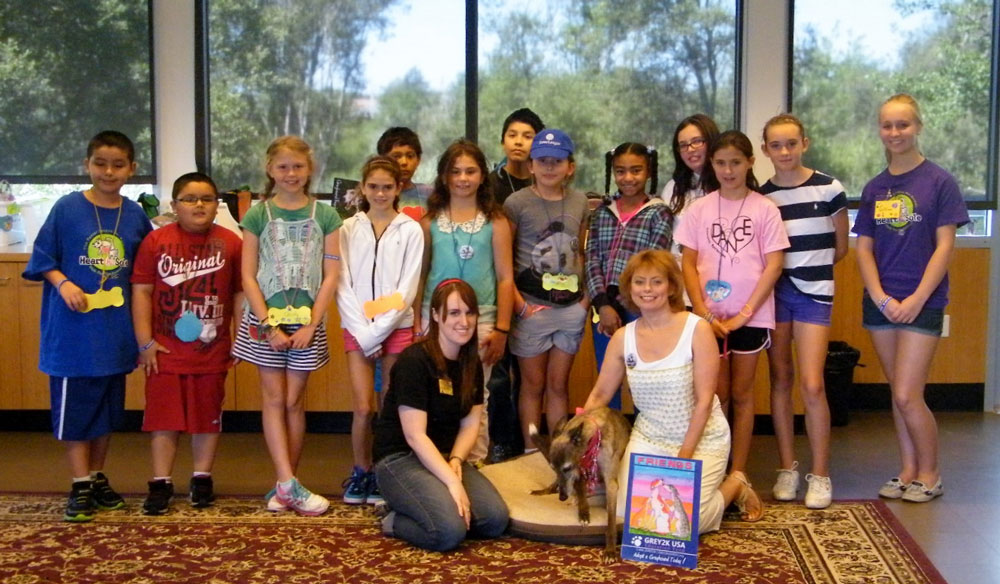 Christine Dorchak and Zoe visit Potter League Summer Camp